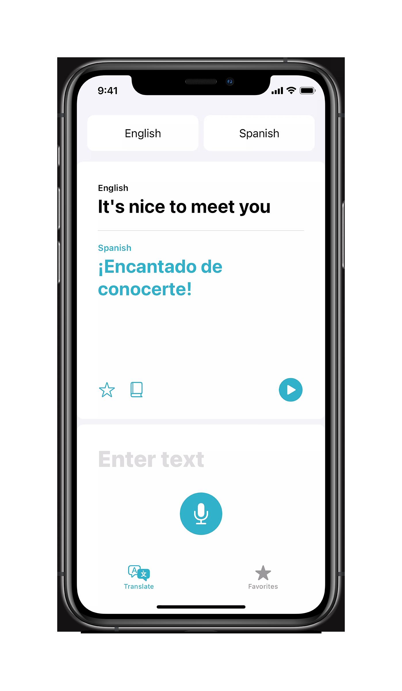 Vertalen in iOS 14