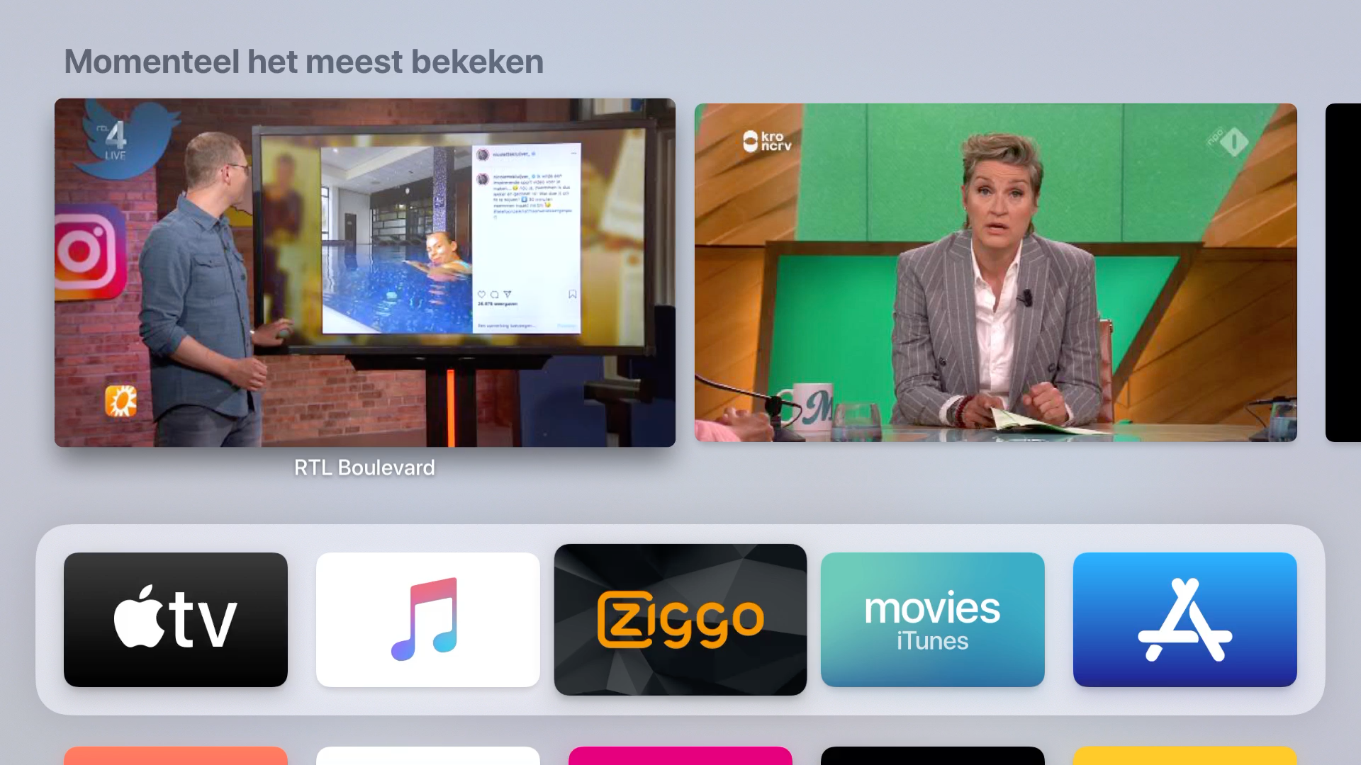 Ziggo Go Apple TV 003