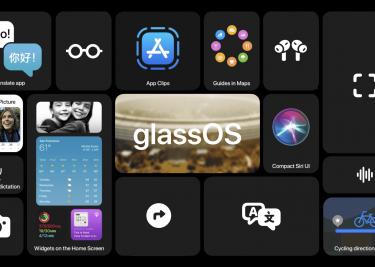 glassOS concept