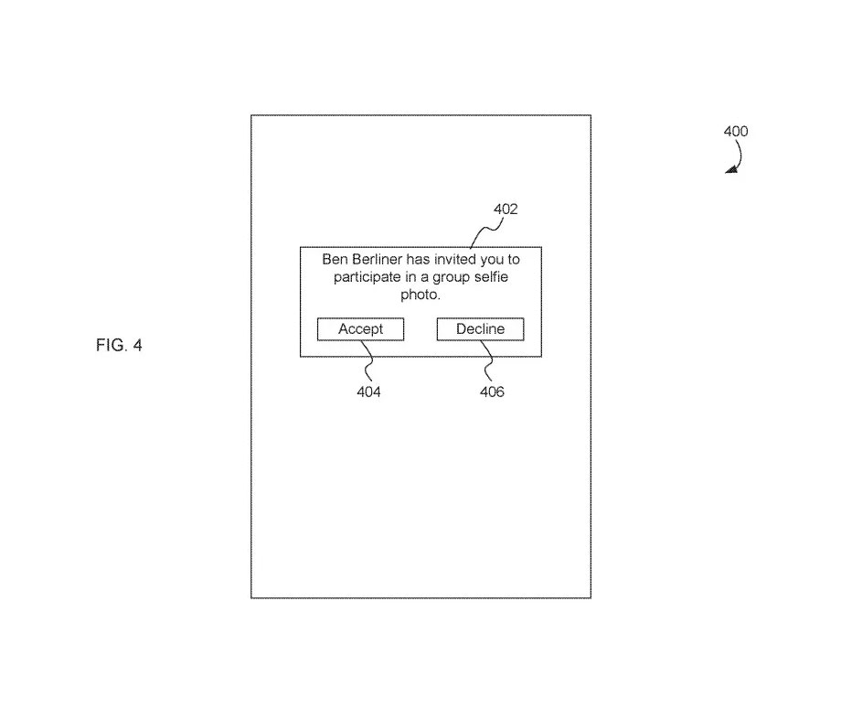 Groepsselfies patent