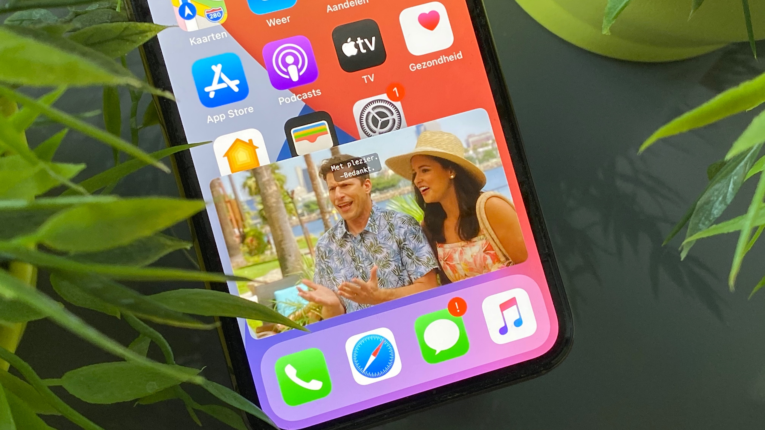 iOS 14 picture-in-picture iPhone 16x9