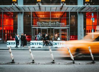 New York Times apple
