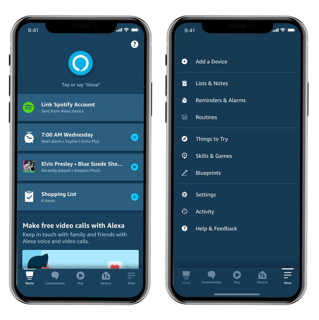 Amazon Alexa App iOS