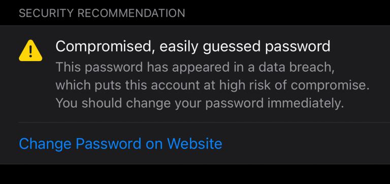 iOS 14 iCloud Keychain wachtwoord gelekt