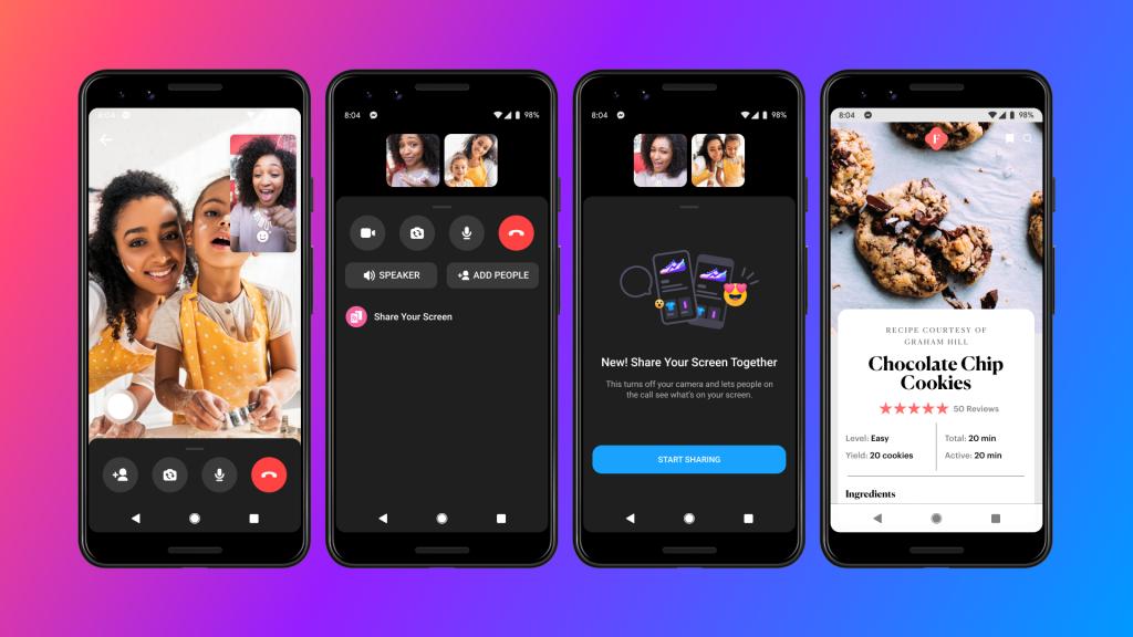 Facebook Messenger videocall