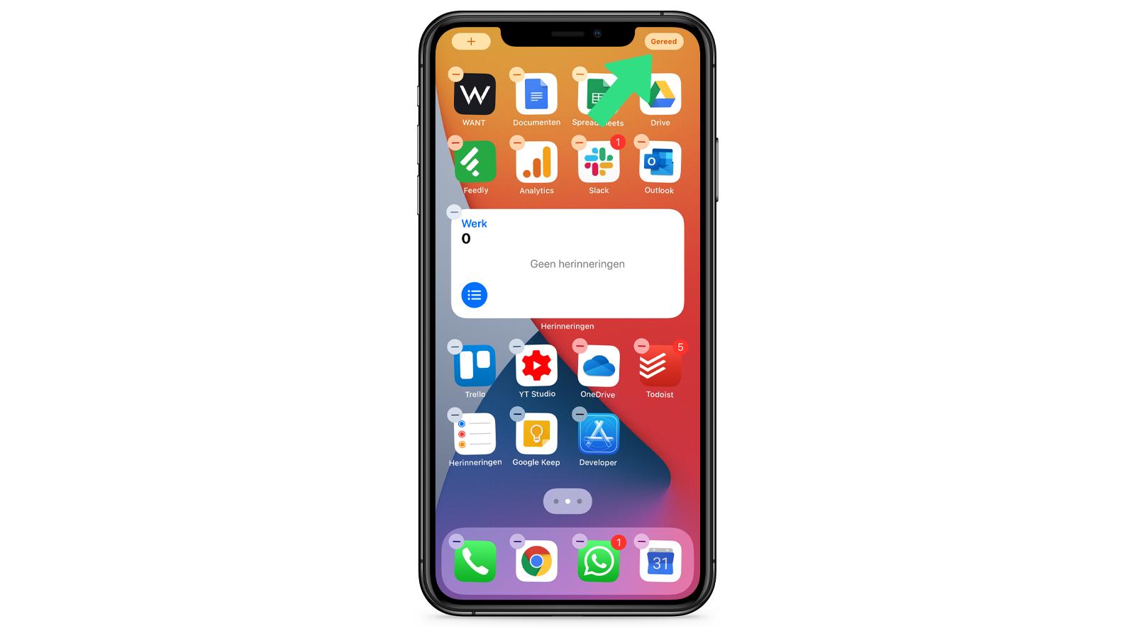 Apple iOS 14 thuisscherm