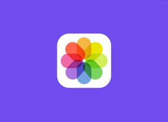 foto's app iOS 14 icoon 16x9