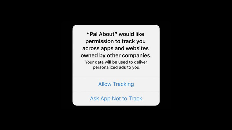 iOS 14 tracking melding