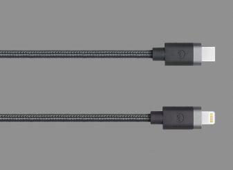 iPhone 12 gevlochten kabel USB-C Lightning
