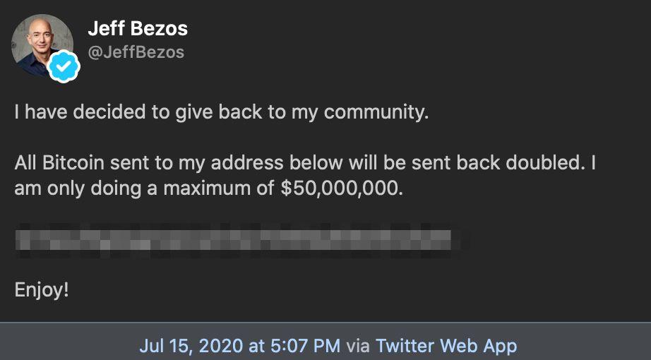 jeff bezos twitter hack