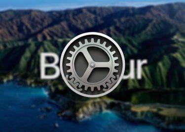 macOS Big Sur update