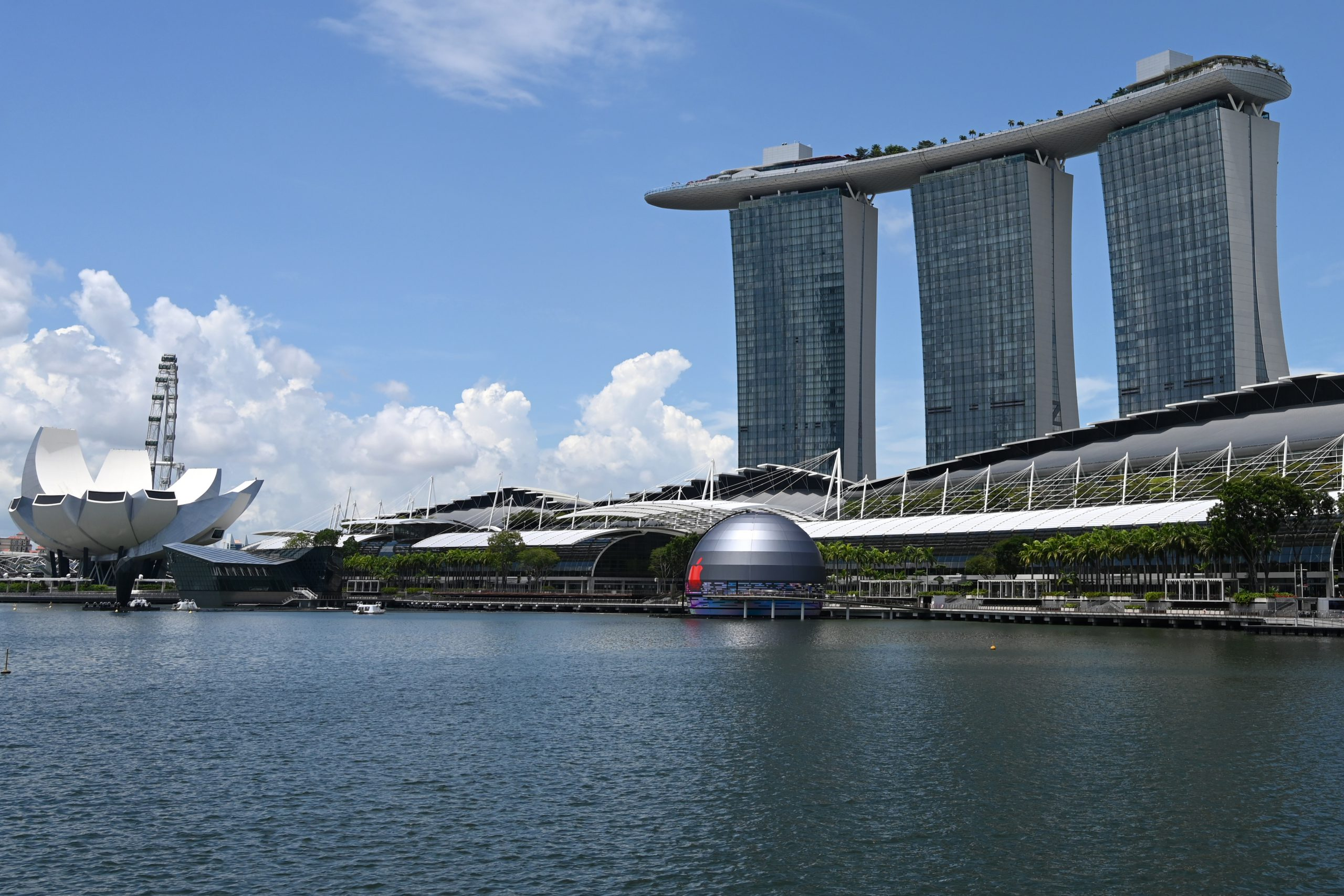 Apple Store Singapore Apple Marina Bay Sands