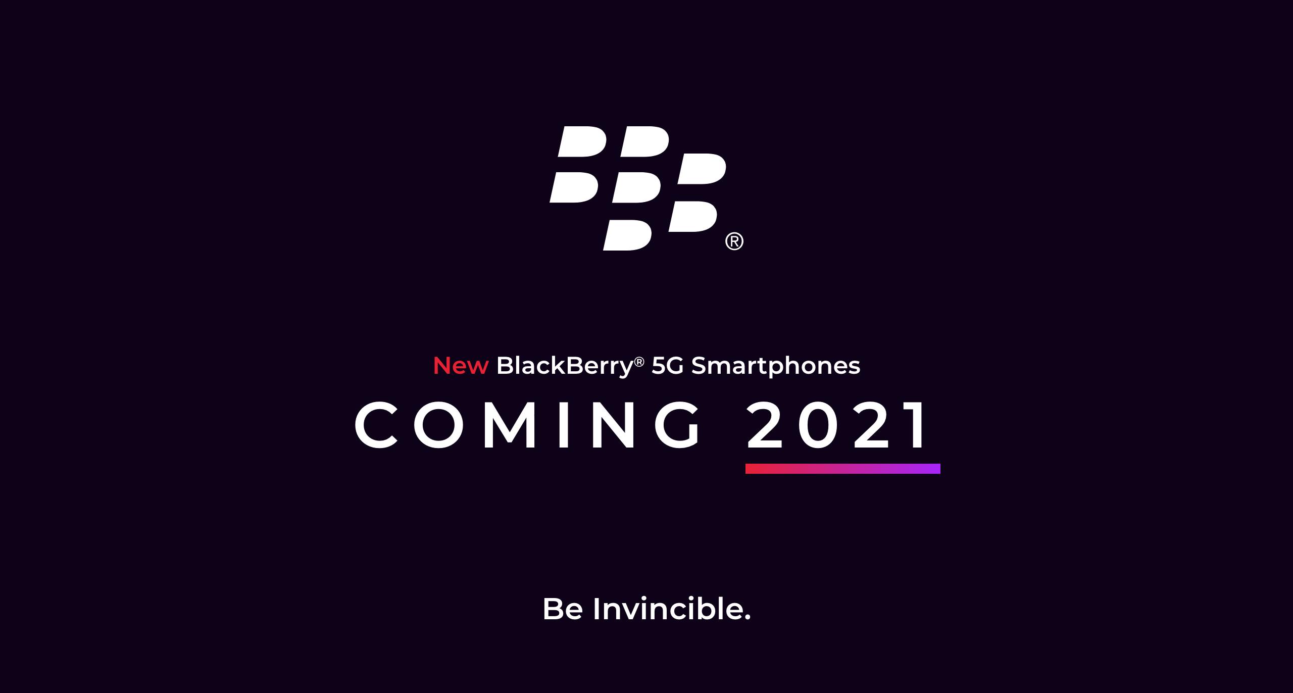 Aankondiging BlackBerry
