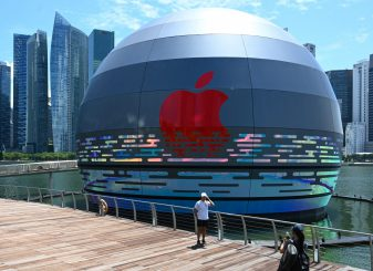 Apple Store Singapore Apple Marina Bay Sands