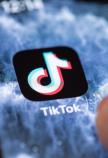 TikTok op iPhone