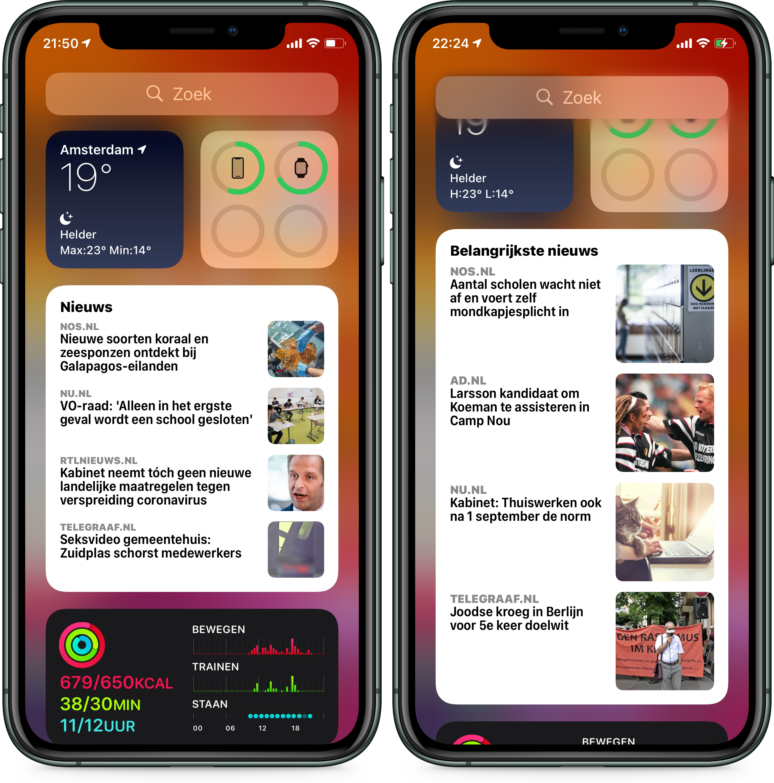 iOS 14 beta 5 news widget 001
