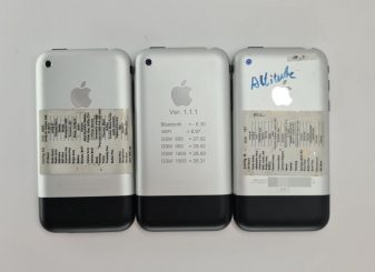 iPhone 2G prototypes