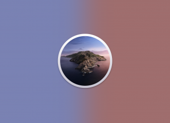 macOS Catalina logo algemeen 16x9