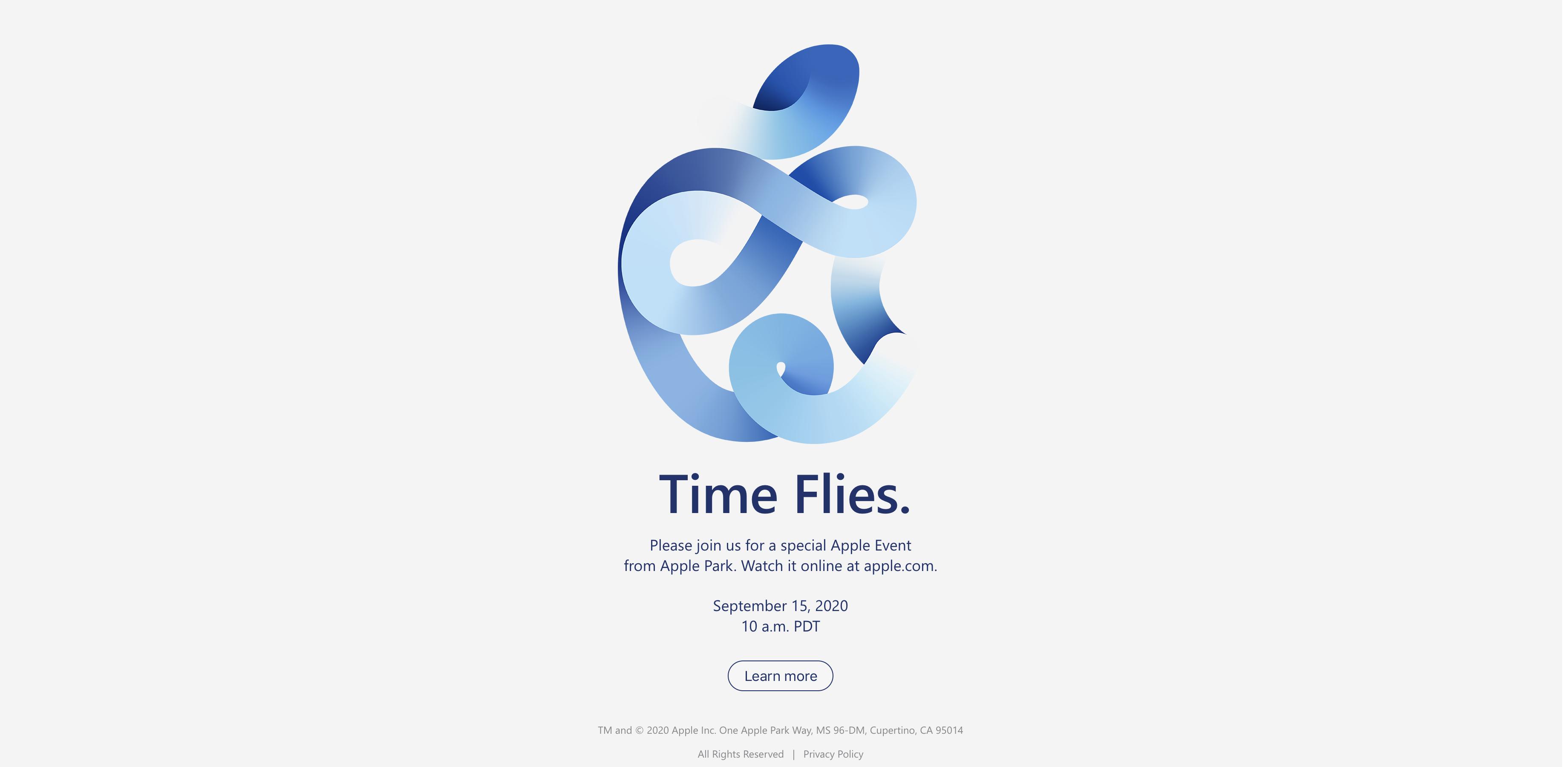Apple Time Flies event