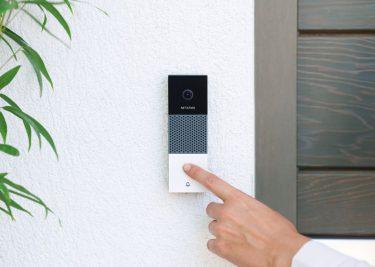 Videodeurbel Netatmo HomeKit slimme video deurbel