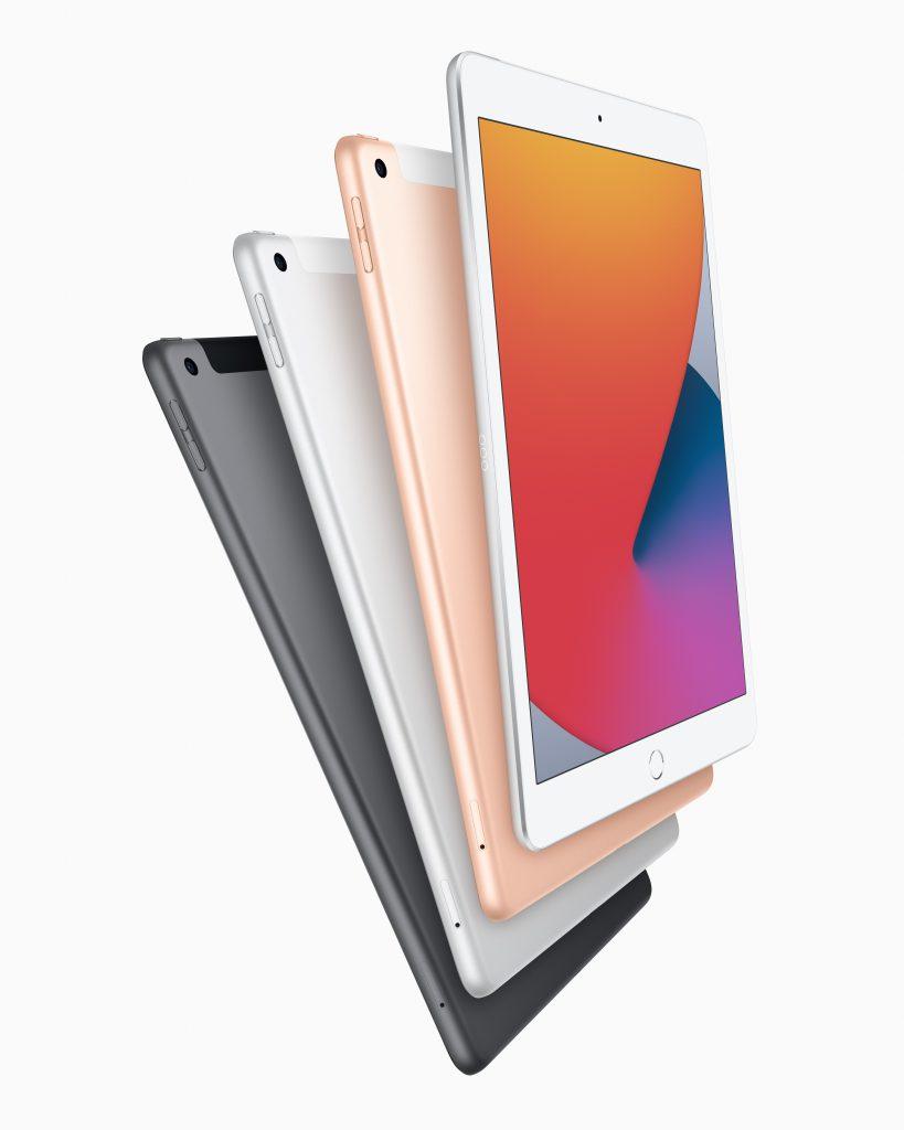 De iPad achtste generatie iPad 2020