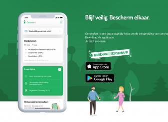 Corona-app in België