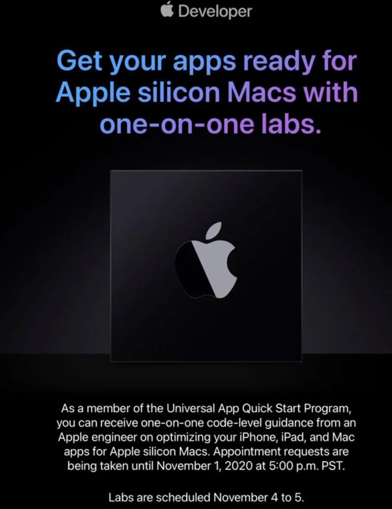 Uitnodiging van Apple