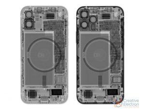 iFixit iPhone 12 Teardown Xray foto