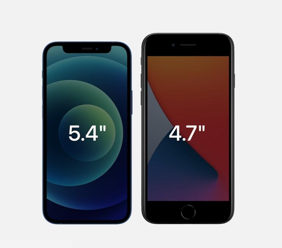 iPhone 12 mini vergelijking
