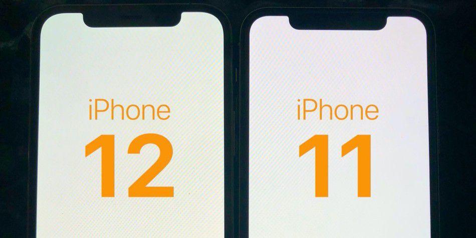 Geelzweem op iPhone 12