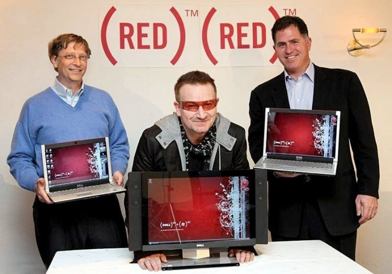 Microsoft Bill Gates (product) RED