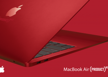 (PRODUCT) RED MacBook Air