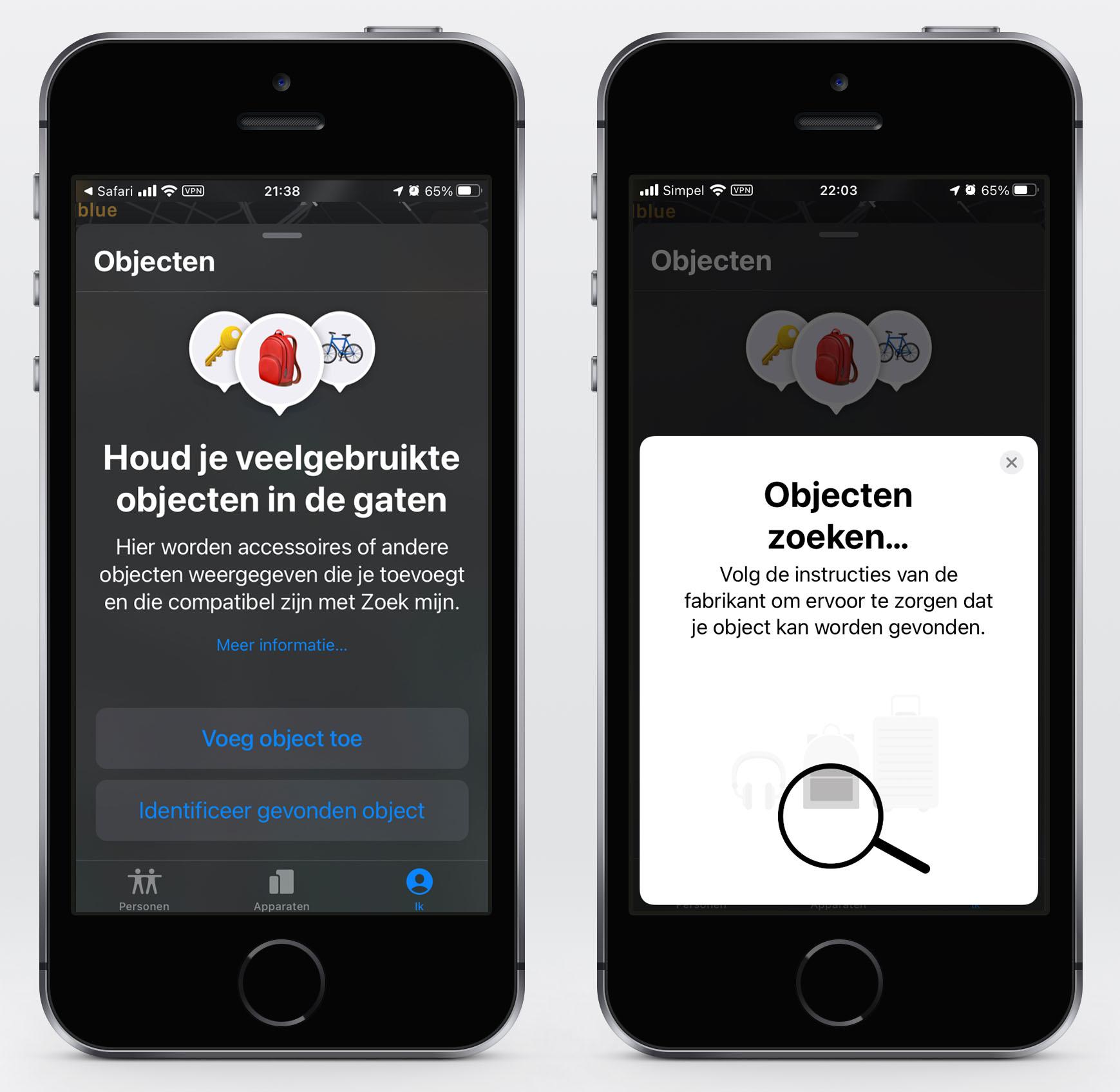 AirTags in iOS 14.3