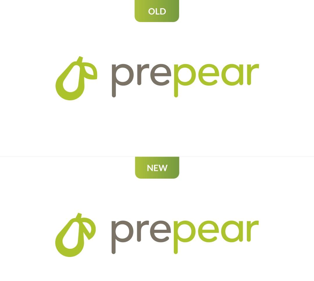 Apple Prepear logo wijziging