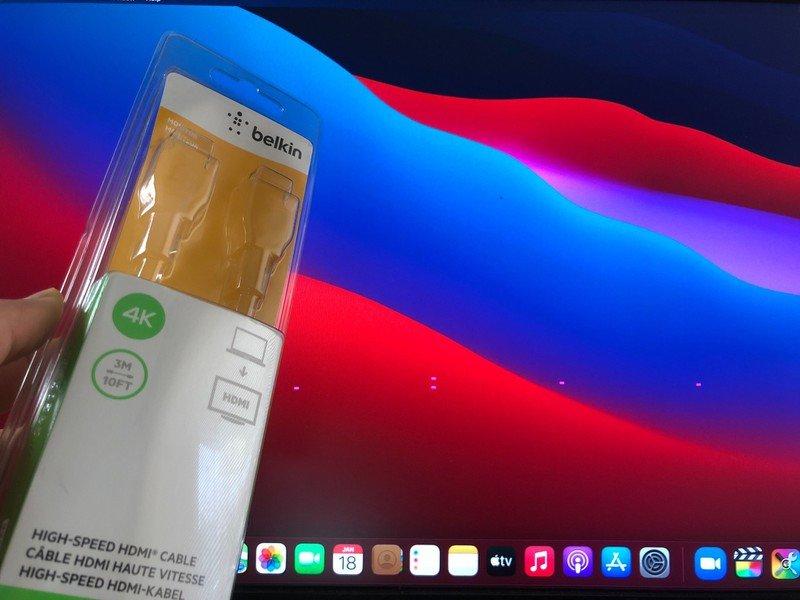 Roze vierkantjes op M1 Mac mini