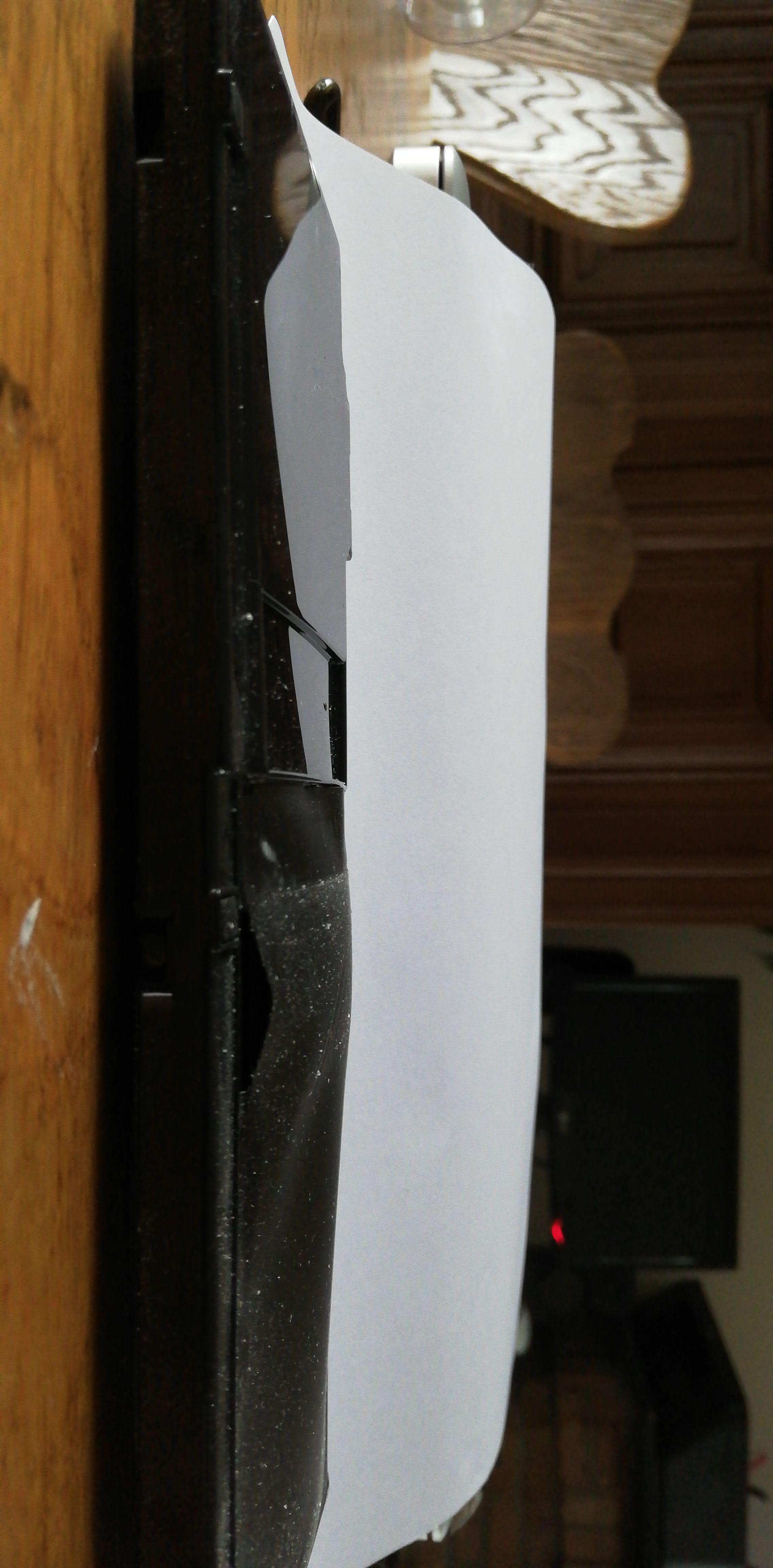 Batterij macbook opgeblazen