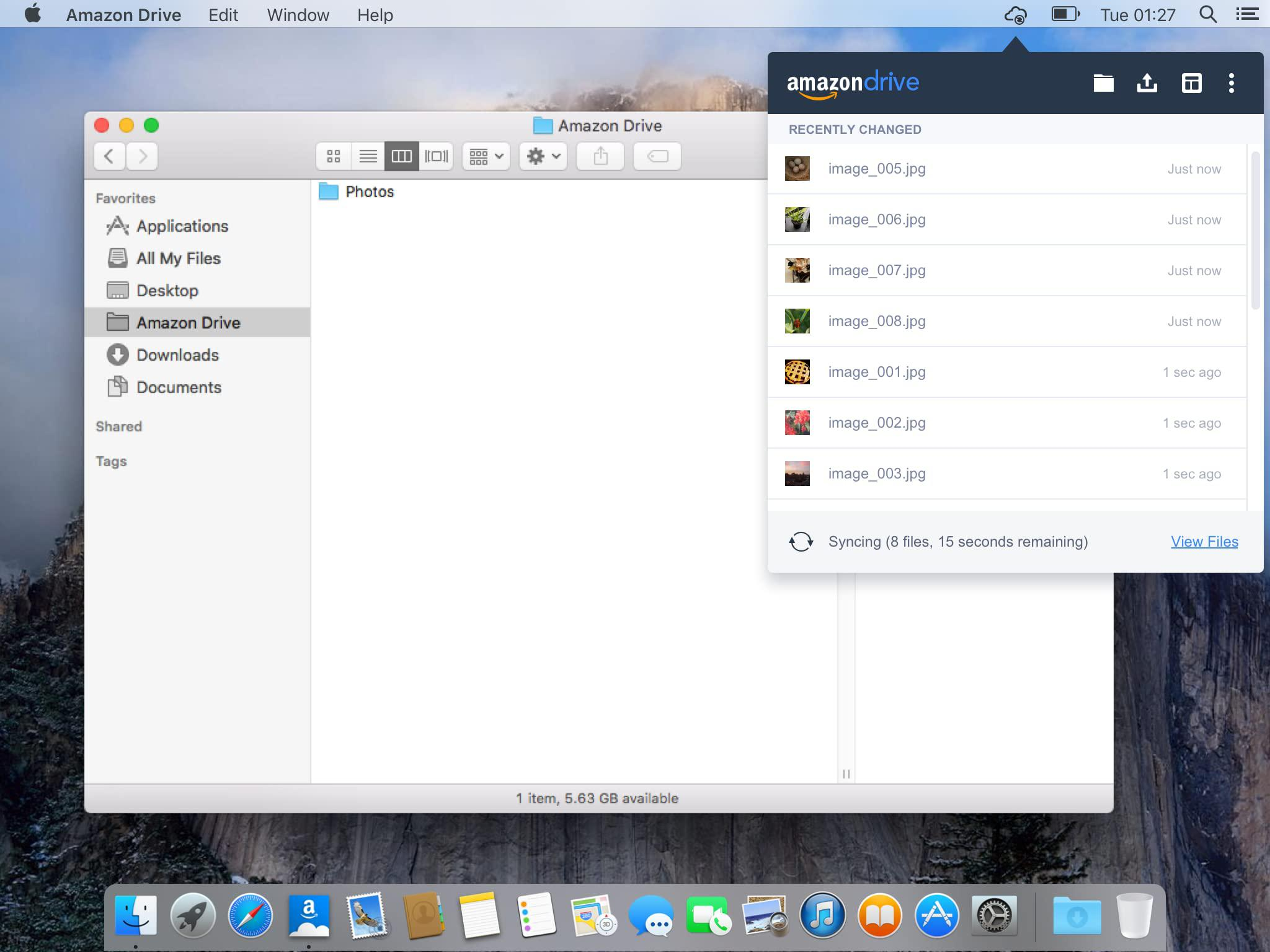 Amazon Cloud Drive - Mac desktop