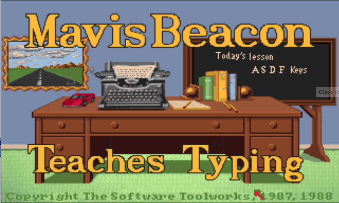 Mavis Beacon Commodore Amiga