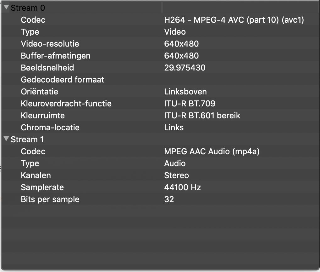 Code details video
