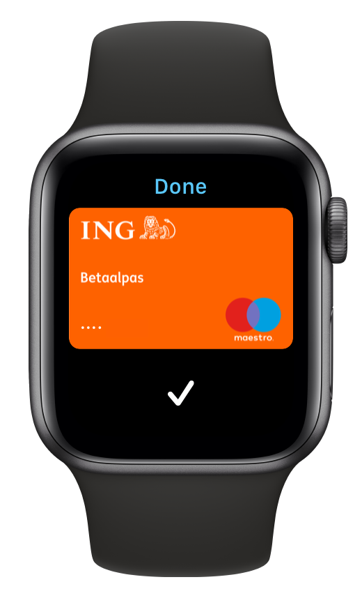 Apple Watch + Apple Pay