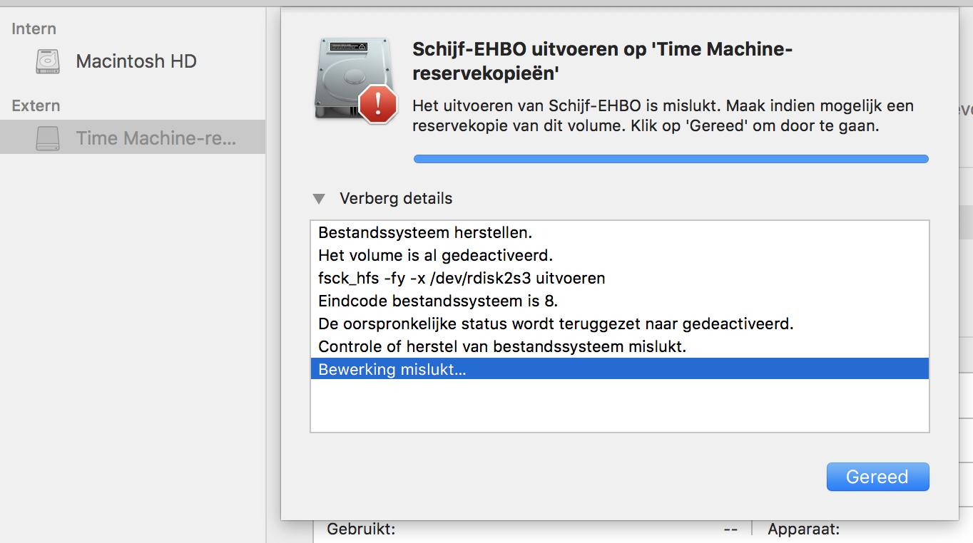 Screenshot externe harde schijf 1