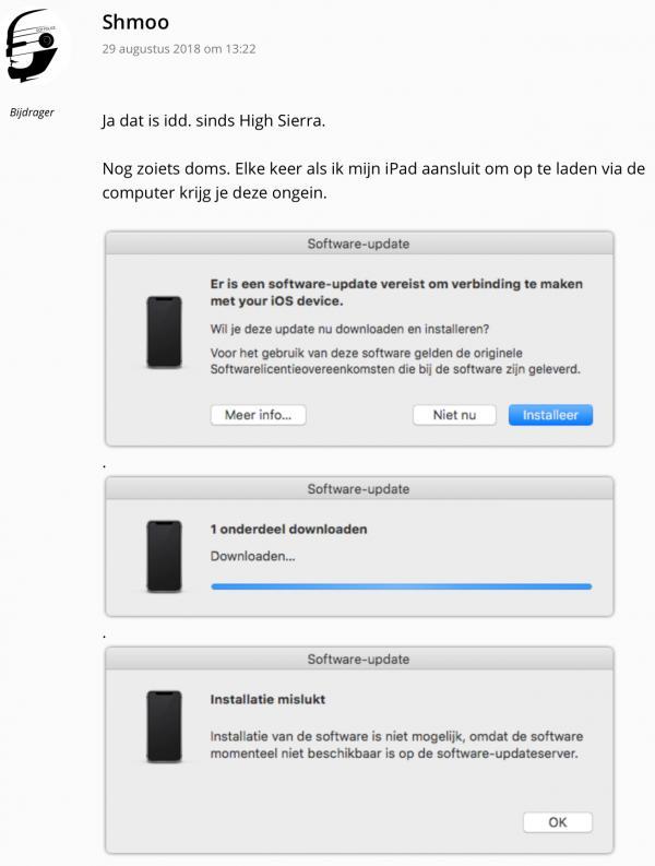 Opladen Iphone Via Imac Werkt Niet Meer Goed One More Thing