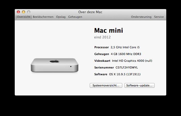 De Mac Mini