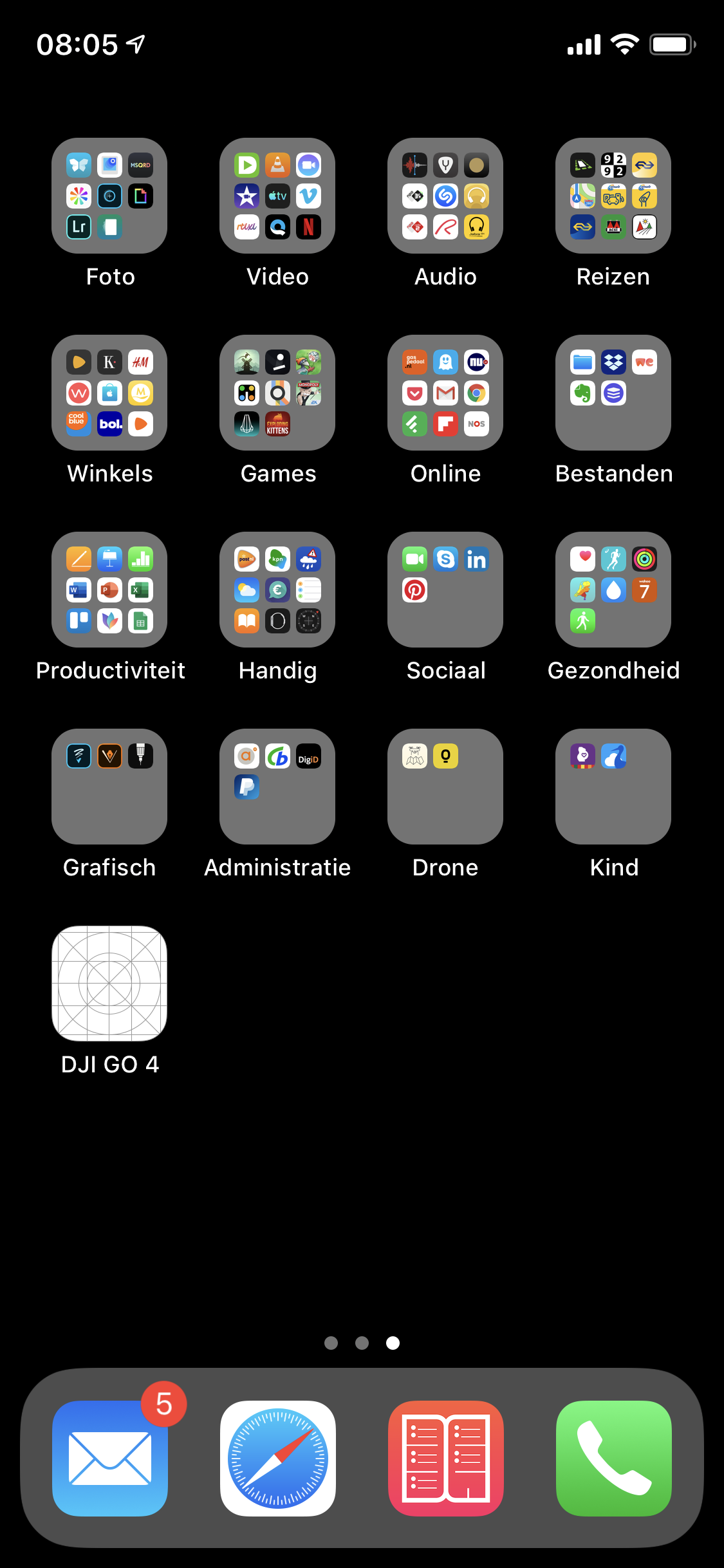 Leeg app-icoon