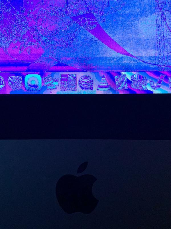 scherm iMac