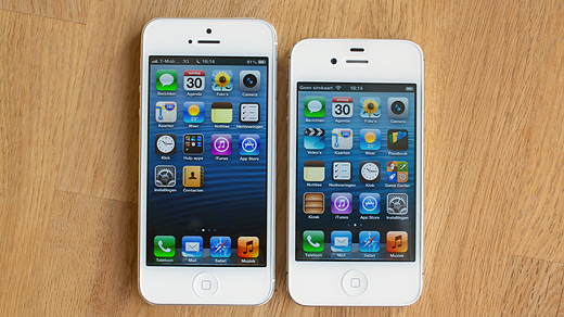 iphone 4 vs iphone 5 review iphone 5 een zwaargewicht in light verpakking 17344