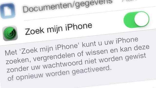 Anyfix Find My Iphone Worden Uitschakelen