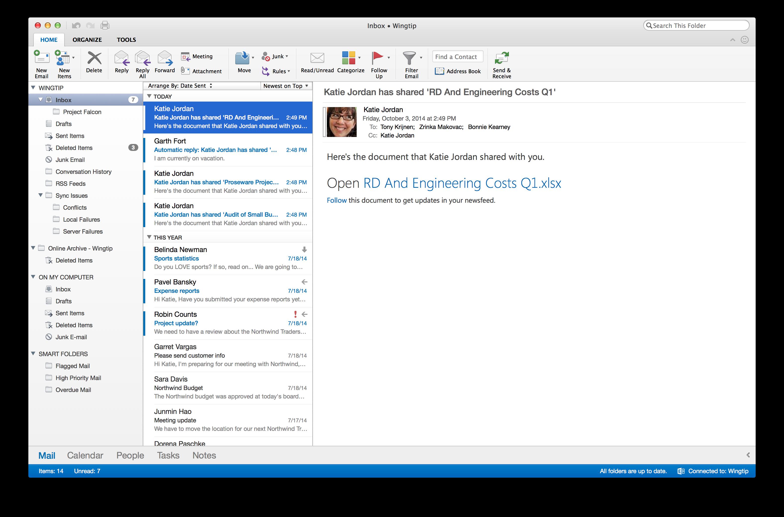 Microsoft vernieuwt Outlook for Mac; Office volgt volgend jaar » One ...