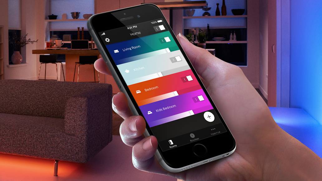 nieuwe philips hue app als beta one more thing. Black Bedroom Furniture Sets. Home Design Ideas