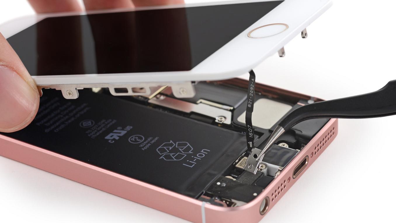 Nieuwe iphone se in gebruik nemen